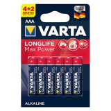BATERIE ALCALINA LR03 MAX POWER VARTA BL 6BUC