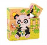 Cuburi puzzle lemn