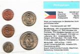 S021 -- SET MONEDE NECIRCULATE FILIPINE, Asia