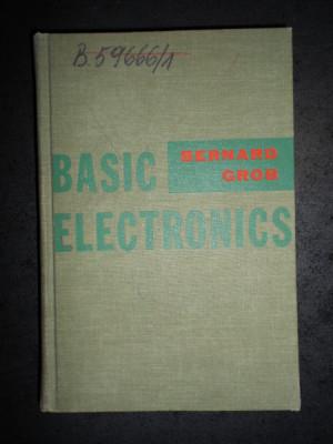 BERNARD GROB - BASIC ELECTRONICS foto