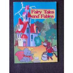 FAIRY TALES AND FABLES (TEXT IN LIMBA ENGLEZA)