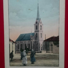 Romania Maramures Nagysomkutrol Somcuta Mare Biserica romano-catolica, Circulata, Printata