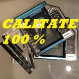 Adaptor Caddy rack HDD/SSD Laptop DVD 9,5 mm si 12,7 mm SATA 2 si 3