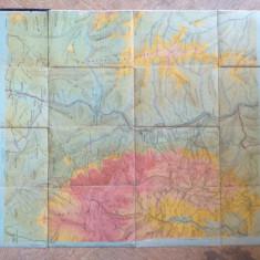 Harta veche Bucegi-Garbova