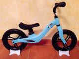 Bicicleta fara pedale cu cadru de magneziu Skillmax A UltraLight 2 kg, blue