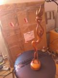 Statueta nud art deco