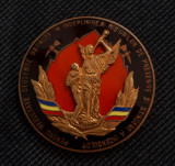 Medalie Pompieri - Pentru rezultate deosebite - Superba - Rara