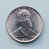 SAN  MARINO  -  2 Lire 1972  -  aUNC