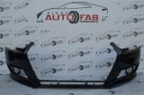 Bară față Audi A4 B9 an 2016-2019 cu găuri pentru Parktronic (6 senzori)
