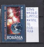 2001 Salut Mileniul III LP1539 MNH, Sport, Nestampilat