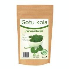 Gotu Kola Pulbere Raw Obio 60gr Cod: 6426333000649