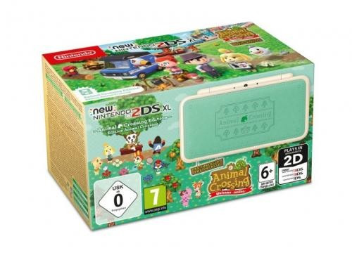 Consola New Nintendo 2DS XL AC Edition incl. AC Welcome amiibo