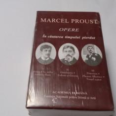 Marcel Proust    IN CAUTAREA TIMPULUI PIERDUT,3 VOLUME  RF11/0