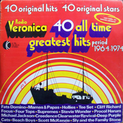 Disc Vinil - Radio Veronica 40 All Time Greatest Hits - Period 1964-1974 foto