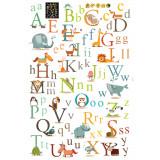 Cumpara ieftin Sticker decorativ Alfabet Jungle autocolant de perete pentru camera copii