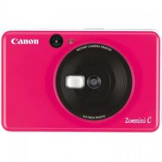 Aparat foto compact Canon Zoemini C, 5MP, Tehnologie de imprimare ZINK, Bluetooth (Roz)