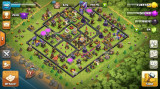 Clash of Clans cont level 140 townhall 11 max eroii level 30 Full Acces CoC