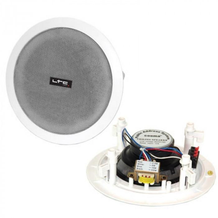 Difuzor tavan, 166 mm, 100 V, 10 W