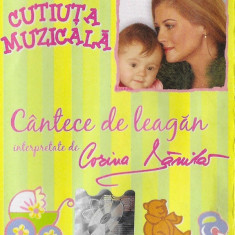 Caseta Corina Dănilă – Cântece De Leagăn Interpretate De Corina Dănilă