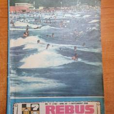 revista rebus 1 septembrie 1988