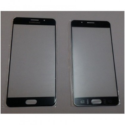 Carcasa (Sticla) Geam Samsung A710 Galaxy A7 (2016) Negru OCH foto