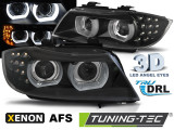 Faruri compatibile cu Bmw Seria 3 E90 E91 09-11 Negru U-LED BAR