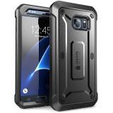 Carcasa 360 grade Supcase Unicorn Beetle Pro Samsung Galaxy S7 cu protectie display, Negru