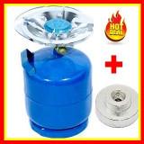 Butelie Camping Cu Arzator 5L .Gpl+Adaptor Incarcat Butelie Reductie