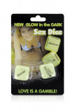 Cumpara ieftin Zaruri Kamasutra, Super Glow In The Dark, Erotic Dice, Fosforescente