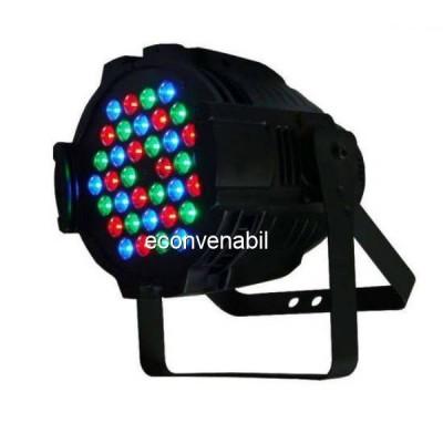 Proiector Lumini PAR Light 36 LEDuri 1W RGB Intrare si Iesire DMX foto