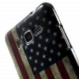 Husa Samsung Galaxy A3 2015 - Gel TPU USA Flag