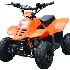 "ATV KXD 4timpi 125B - 001 roti de 7"" culoare portocaliu Cod Produs: MX_NEW 3010O"
