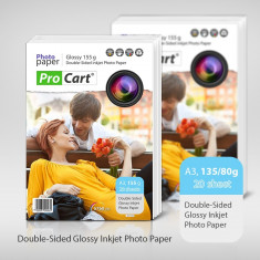 Hartie FOTO Dual Side Glossy format A3 155g