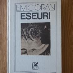 CIORAN- ESEURI, cartonata