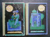 1001 DE NOPTI. BASME ARABE ISTORISITE DE EUSEBIU CAMILAR 2 volume, ed. cartonata