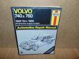 MANUAL REPARATII HAYNES  VOLVO 740&760  1982-1988
