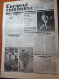 curierul romanesc 15 februarie-1 martie 1990-art. si foto palatul mogosoaia