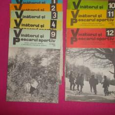 REVISTA VÂNĂTORUL ȘI PESCARUL ANUL 1979 8 reviste