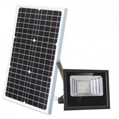 Proiector solar 25 W, panou solar, telecomanda
