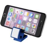 Suport telefon multifunctional, Everestus, STT137, plastic, albastru, laveta inclusa