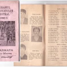 ASA Targu Mures - program 1986-87