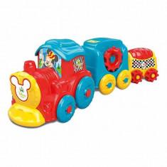 Jucarie Tren Mickey Mouse Multicolor 17168 Clementoni
