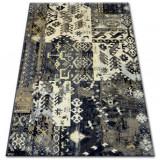 Covor Ziegler 038 negru și crem, 150x230 cm