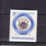 ROMANIA 1968  LP 684 - 20 ANI FEDERATIA  INTERNATIONALA  ARTA  MNH