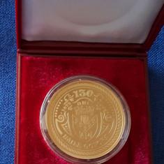 Medalie Baile Govora - heraldica - stema orasului - Hotel Stefanescu