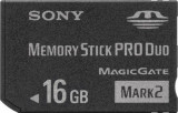 Card Memorie- Pro Duo -Memory Stick Produo-16gb-PSP-Camere video, 16 GB, CFast
