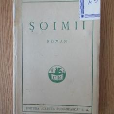 SOIMII- SADOVEANU- 1921, cartonata