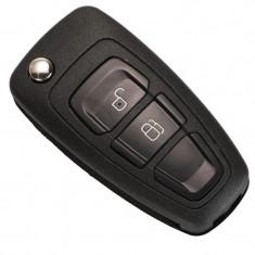 Carcasa Cheie Techstar® Ford Focus, Mondeo, Fiesta, Kuga, Galaxy, Ranger, 2 Butoane