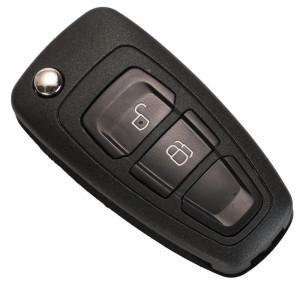 Carcasa Cheie Auto Techstar® Ford Focus, Mondeo, Fiesta, Kuga, Galaxy, Ranger, 2 Butoane