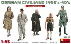 1:35 German Civilians 1930-40s - 5 figures 1:35 foto